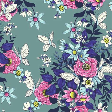 flower pattern in photoshop design a floral pattern for fabric in adobe photoshop