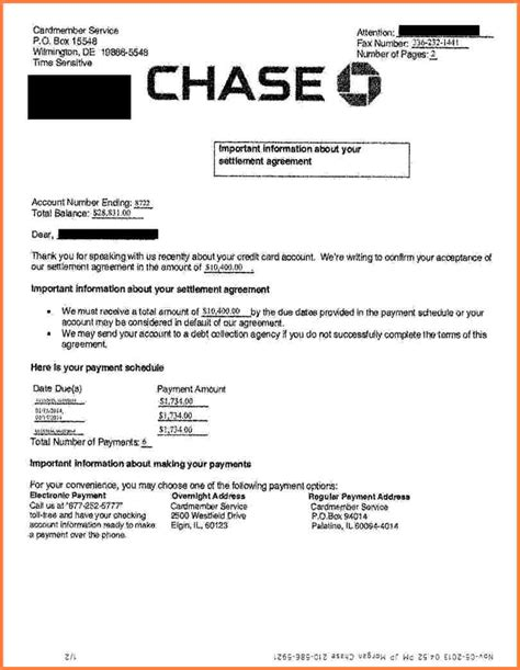 7 chase mortgage statement statement synonym