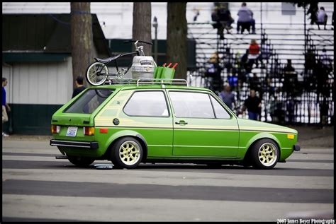 volkswagen rabbit custom 1977 bali green vw rabbit