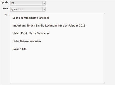 Anfrage Spanisch Brief Personalisierte Deutsche Anrede In Email Vorlagen Und Mailchimp