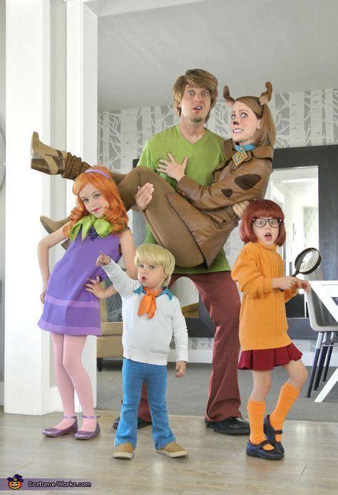 scooby doo family halloween costume contest  costume