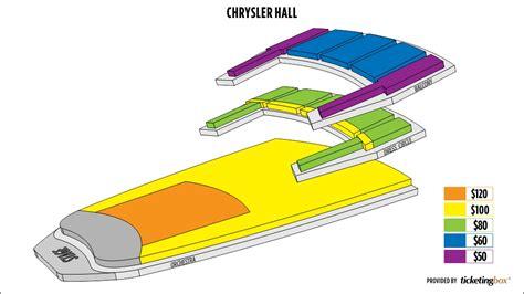 chrysler norfolk virginia seating chart chrysler seating chart