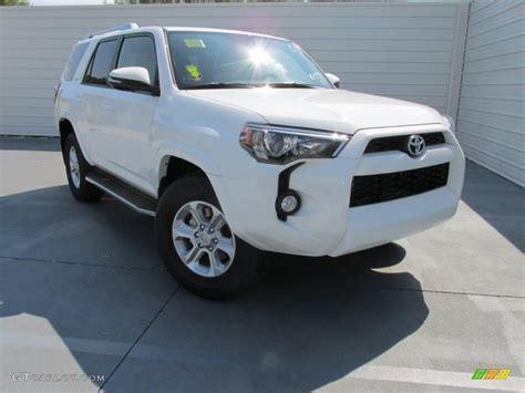 Toyota 4runner White 2016 White Toyota 4runner Sr5 107724671 Photo 5
