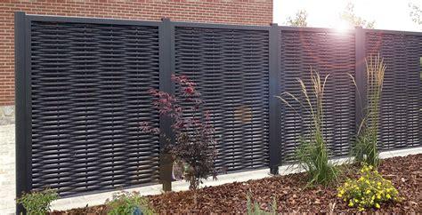 panneaux pour jardin des panneaux en aluminium pour cl 244 turer jardin