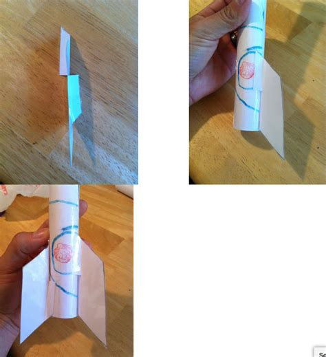 How To Make Paper Rocket Step By Step - how to make a paper rocket classroom flight