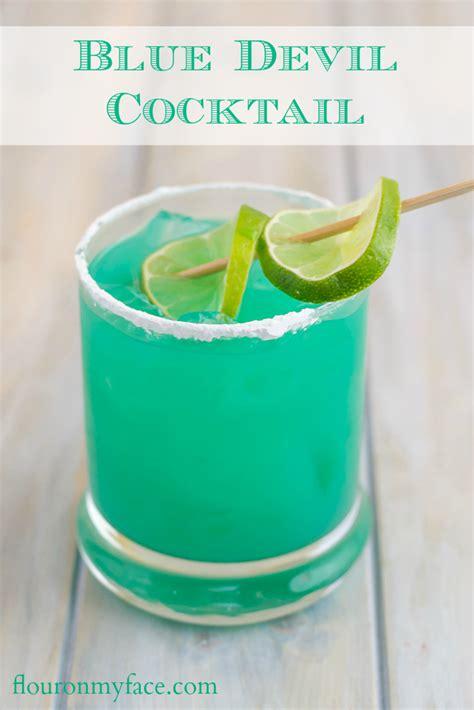 non alcoholic blue cocktails