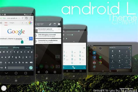 download theme android l cm11 android l theme cm11 v4 c tema indir