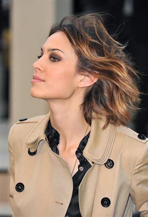 alexa chung hairstyles hairstyle alexa chung