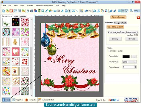 printable greeting card software greeting cards designing software designs and print