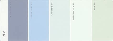 martha stewart paint 5 color palette card 22 available from thelandofcolor 9 99 s h