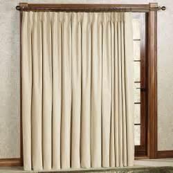 pinch pleat patio door drapes crosby pinch pleat thermal room darkening patio panel