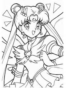 sailor moon coloring pages cartoon sailor moon
