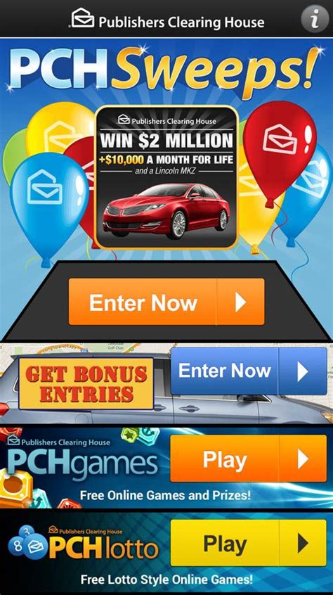 Pch Com Lotto Sweepstakes - download pch sweeps for android pch sweeps 1 25 download