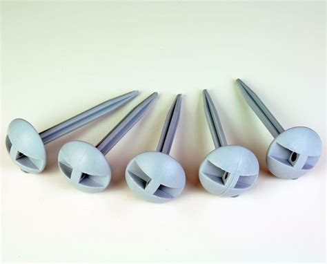 plastic awning sheets plastic tent awning mushroom ground sheet 3 5 quot dome pegs 25 pack ebay