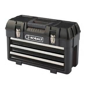 Kobalt 3 drawer portable tool box lowe s canada