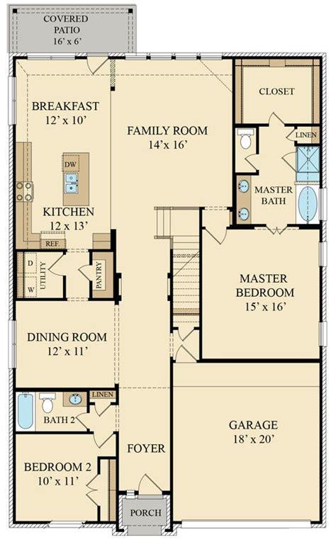 alabaster 3764 brick new home plan in waterstone