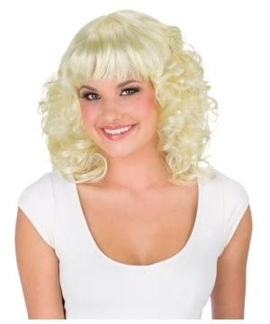 poof on top with bangs poof bangs wig character halloween add ons