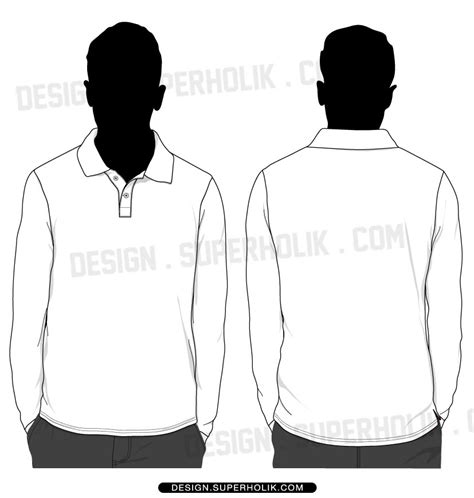 blank polo shirts templates