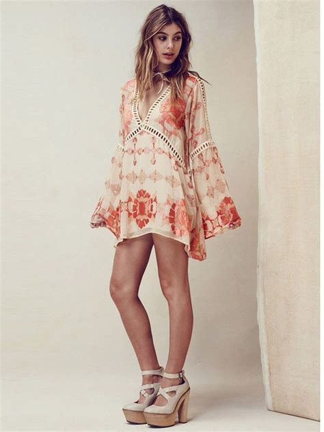 Korea Boho Tunic Dress best 25 hippie chic fashion ideas on hippie