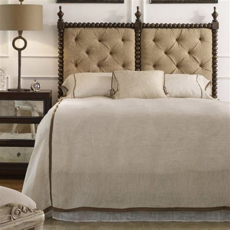 tufted headboard twin bed andaluz tufted upholstered headboard size king twin queen