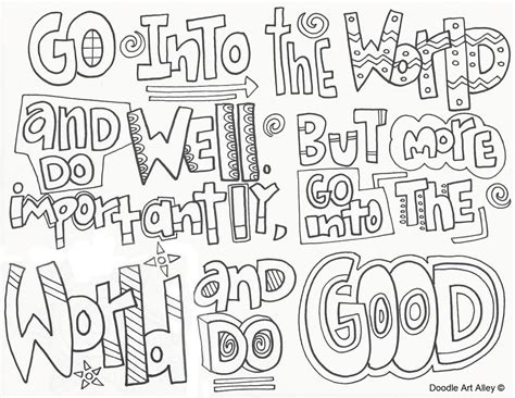 doodle alley quotes graduation coloring pages doodle alley