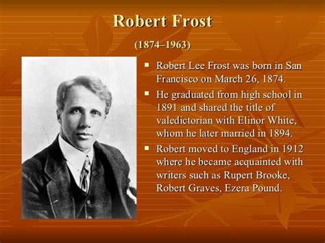 biography robert frost complex themes philosophical nature of poetry by