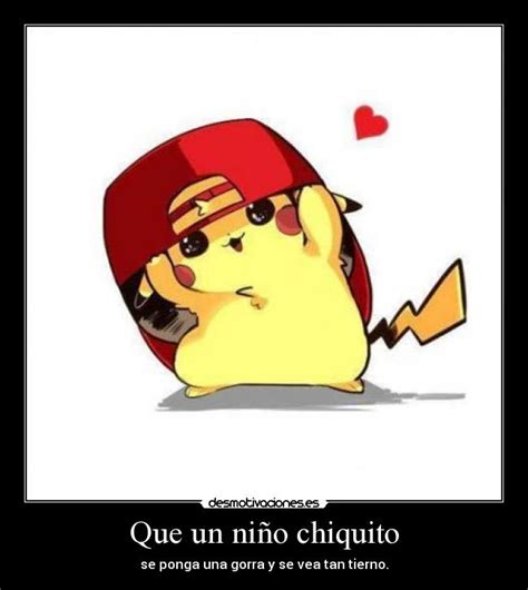 imagenes kawaiis de picachu pikachu con gorra tierno imagui