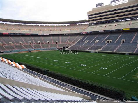 Section Q by Neyland Stadium Section Q Seat Views Seatscore Rateyourseats