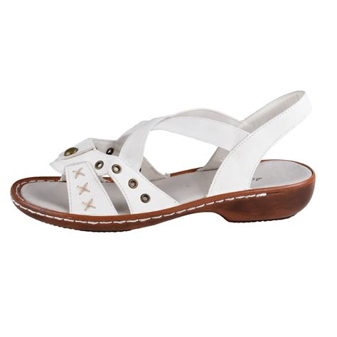 white comfort sandals lisanne comfort women s sandals white ebay