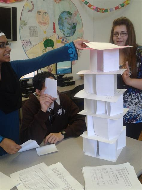 How To Make A Building Out Of Paper - tower spin
