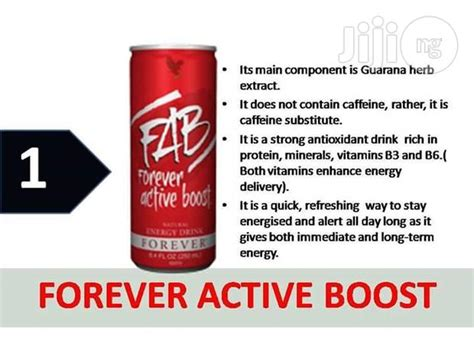 Fab Forever Active Boost For Sale In Central Business Fab X From Forever Living Products