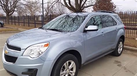 chevrolet equinox blue 2014 chevy equinox lt light blue youtube