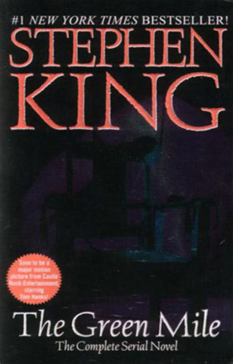 green a novel books the green mile a book by stephen king book review