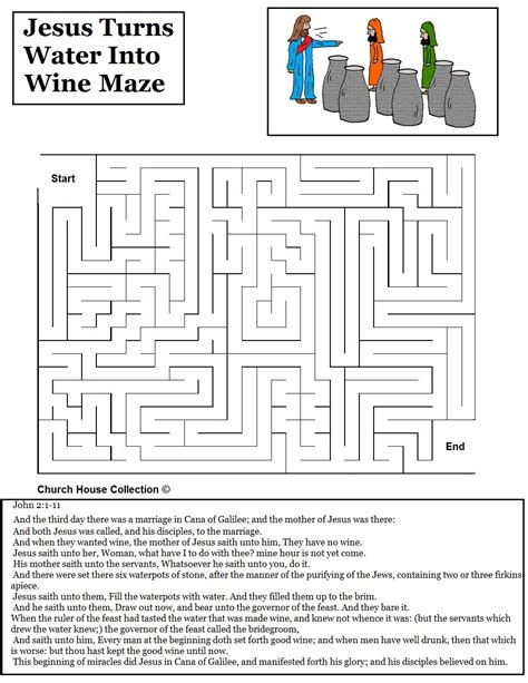 Wedding At Cana Quiz by Water Into Wine Activities Jesus Turns Water Into Wine