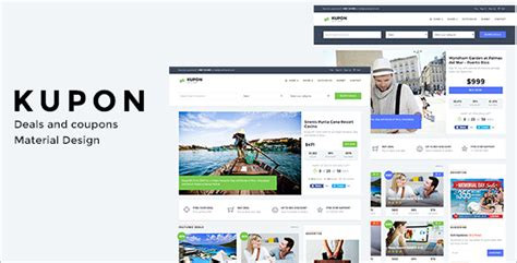 templates for deals website 7 best deals website templates free premium themes