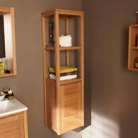 rangement salle de bain bambou