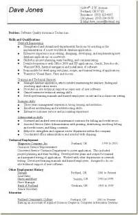 Voip Tester Sle Resume by Quality Resume Sle Thebridgesummit Co