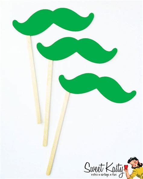 Mustache St Kid 17 best images about shamrock favors on lollipops push up pops and minis