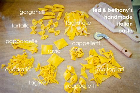 Handmade Pasta Shapes - traditions of the land food in italy part iv twooregonians