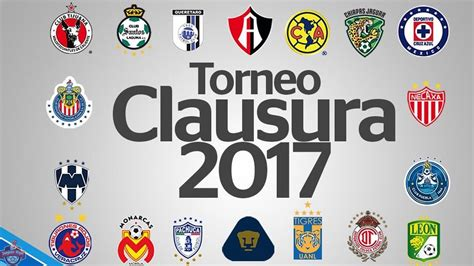Calendario Liga Mx Calendario Oficial Clausura 2017 Liga Mx