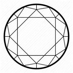 Gem Outline by Adamant Brilliant Gem Rock Icon Icon Search Engine