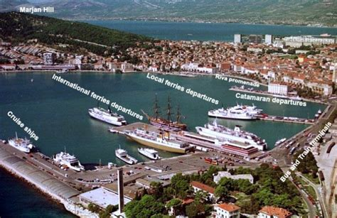 catamaran split to hvar cost finding your way around split ferry port split croatia