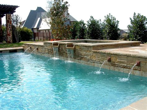 pool fountain ideas swimming pool water fountains backyard design ideas