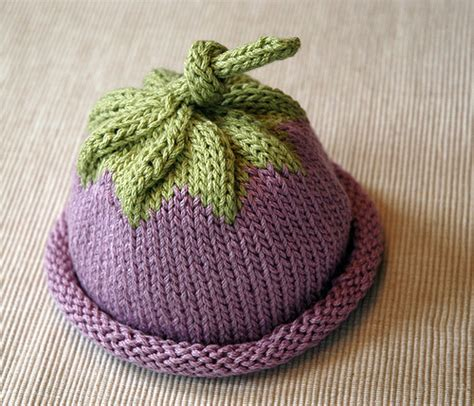 free baby hat knitting patterns knitting patterns galore berry baby hat