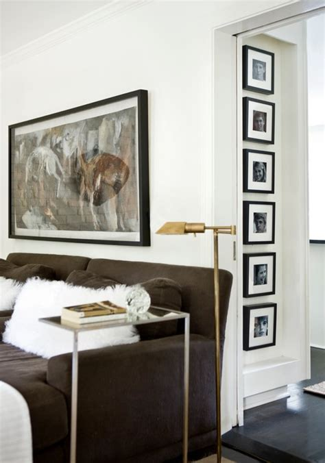 frames for living room photo frames a great way to beautify your interiors