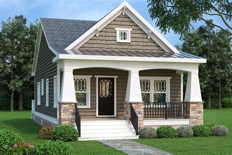 bungalow two section series bungalow style house plan 2 beds 1 00 baths 966 sq ft plan 419 228
