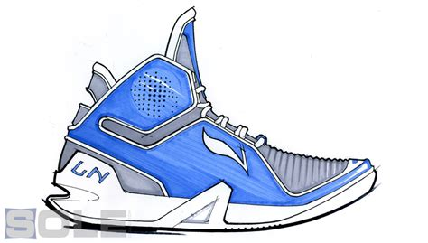 basketball shoes drawing sneakerphile eric miller details the li ning defend
