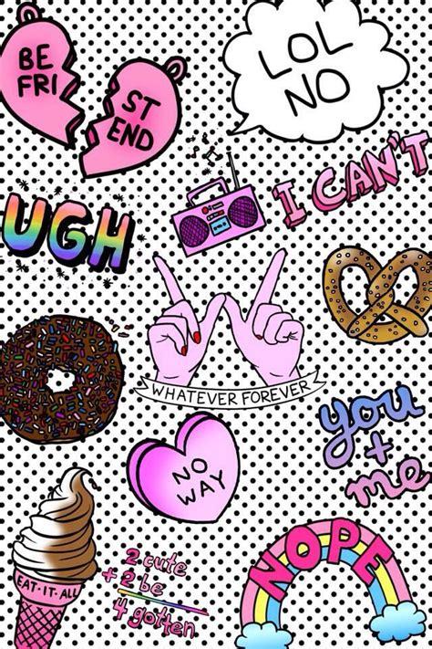 wallpaper dinding unicorn pretzel sass gems pinterest cell phone wallpapers