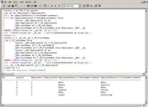 sql query exles tutorial advanced sql query tutorial with exles inside the sqlxml