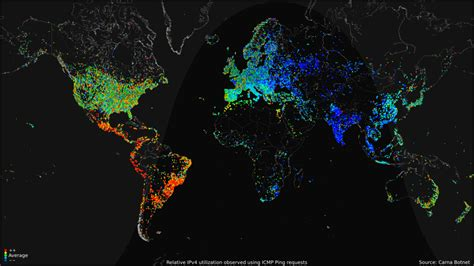 gigaom check out this visual map that shows 24 hours of